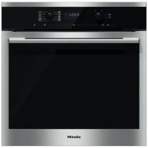 Miele H6160BPCLST Built In Pyrolytic Single Oven with Moisture Plus – STAINLESS STEEL