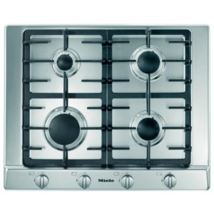 Miele KM2010SS 65cm Four Zone Gas Hob – STAINLESS STEEL