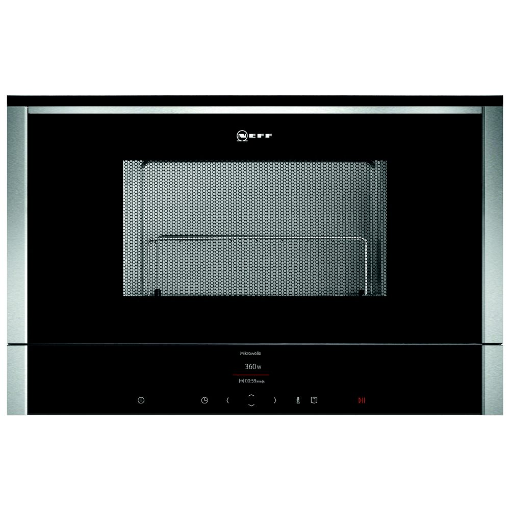 Neff C17GR00N0B N70 Built In Microwave & Grill For Wall Unit - STAINLESS STEEL