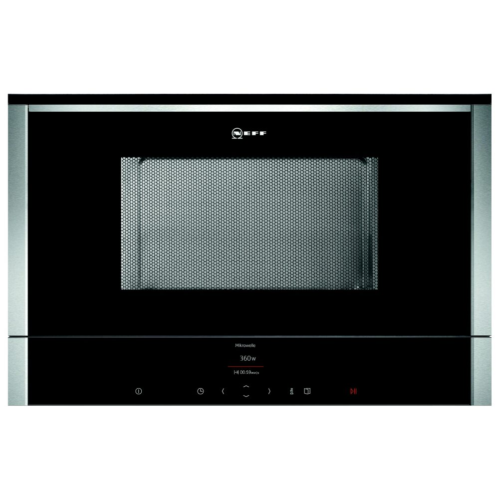 Neff C17WR01N0B N70 Built In Microwave For Wall Unit - STAINLESS STEEL