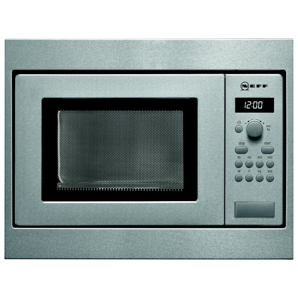 Neff H53W50N3GB 50cm Built In Microwave For Wall Unit - STAINLESS STEEL