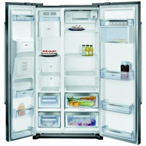 Neff KA3902I20G American Style Fridge Freezer With Ice & Water – STAINLESS STEEL