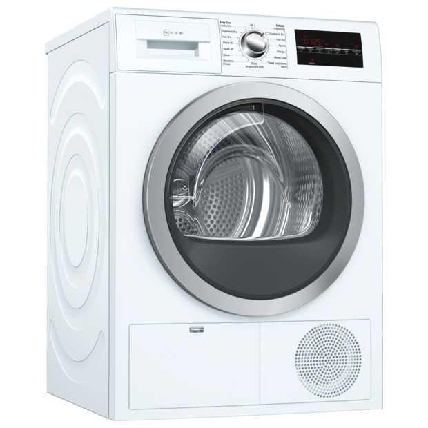 Neff R8580X3GB 9kg Condenser Tumble Dryer - WHITE