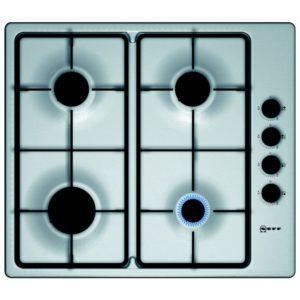 Neff T26BR46N0 60cm 4 Burner Gas Hob – STAINLESS STEEL