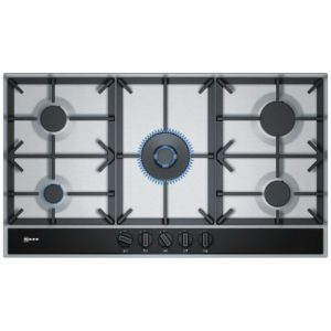 Neff T29DA69N0 90cm 5 Burner FlameSelect Gas Hob – STAINLESS STEEL