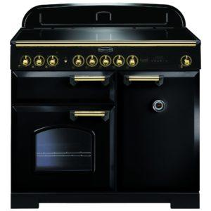 Rangemaster CDL100EIBL/B Classic Deluxe 100cm Induction Range Cooker 115570 – BLACK