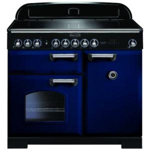 Rangemaster CDL100EIRB/C Classic Deluxe 100cm Induction Range Cooker 114010 – BLUE