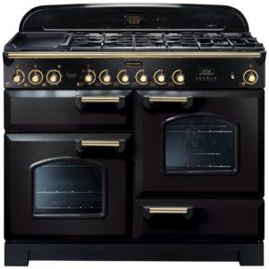 Rangemaster CDL110DFFBL/B Classic Deluxe 110cm Dual Fuel Range Cooker 79800 – BLACK