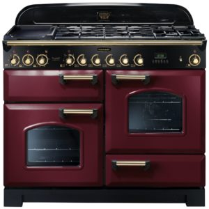 Rangemaster CDL110DFFCY/B Classic Deluxe 110cm Dual Fuel Range Cooker 84430 – CRANBERRY