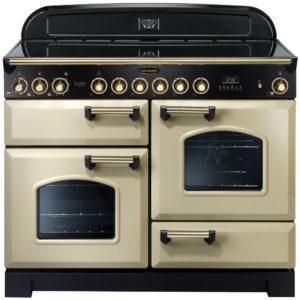 Rangemaster CDL110ECCR/B Classic Deluxe 110cm Ceramic Range Cooker 81350 – CREAM