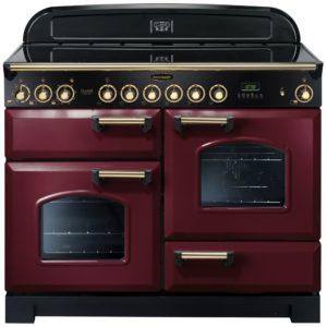 Rangemaster CDL110ECCY/B Classic Deluxe 110cm Ceramic Range Cooker 84450 – CRANBERRY