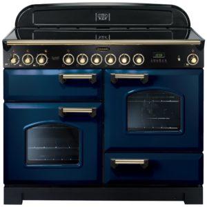 Rangemaster CDL110ECRB/B Classic Deluxe 110cm Ceramic Range Cooker 114140 – BLUE