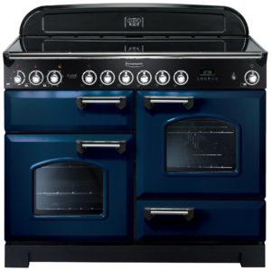 Rangemaster CDL110ECRB/C Classic Deluxe 110cm Ceramic Range Cooker 114130 – BLUE