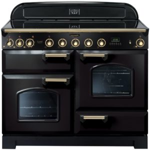 Rangemaster CDL110EIBL/B Classic Deluxe 110cm Induction Range Cooker 90430 – BLACK