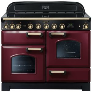 Rangemaster CDL110EICY/B Classic Deluxe 110cm Induction Range Cooker 90450 – CRANBERRY