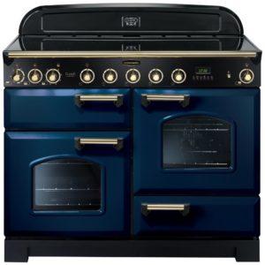Rangemaster CDL110EIRB/B Classic Deluxe 110cm Induction Range Cooker 113100 – BLUE