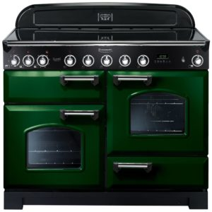 Rangemaster CDL110EIRG/C Classic Deluxe 110cm Induction Range Cooker 113070 – RACING GREEN