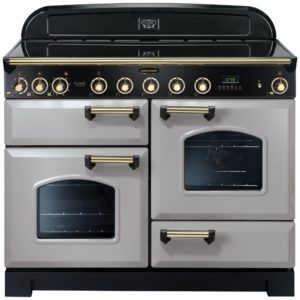 Rangemaster CDL110EIRP/B Classic Deluxe 110cm Induction Range Cooker 114560 – ROYAL PEARL