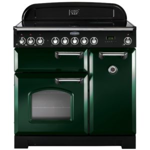Rangemaster CDL90EIRG/C Classic Deluxe 90cm Induction Range Cooker 113690 – RACING GREEN
