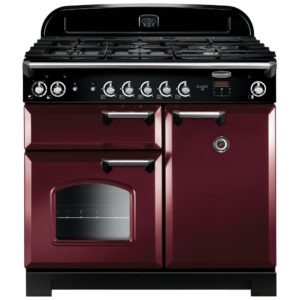 Rangemaster CLA100DFFCY/C Classic 100cm Dual Fuel Range Cooker 116900 – CRANBERRY