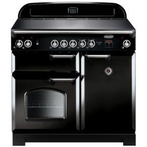 Rangemaster CLA100ECBL/C Classic 100cm Ceramic Range Cooker 117600 – BLACK