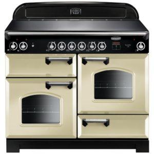 Rangemaster CLA110ECCR/C Classic 110cm Ceramic Range Cooker 117520 – CREAM