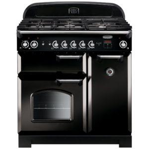 Rangemaster CLA90DFFBL/C Classic 90cm Dual Fuel Range Cooker 116490 – BLACK