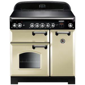 Rangemaster CLA90ECCR/C Classic 90cm Ceramic Range Cooker 117430 – CREAM