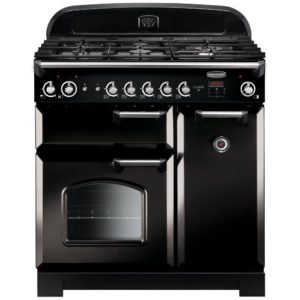 Rangemaster CLA90NGFBL/C Classic 90cm Gas Range Cooker 116720 – BLACK