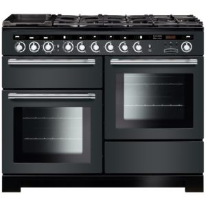 Stoves RICHMOND DX S900DFBK 4897 Richmond Deluxe 90cm Dual Fuel Cooker – BLACK