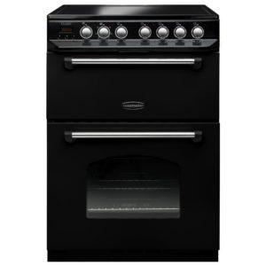 Rangemaster CLAS60ECBL/C Classic 60cm Ceramic Cooker 107330 – BLACK