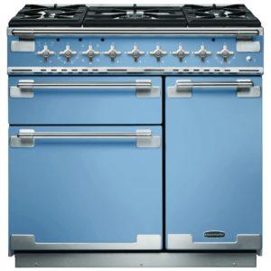 Rangemaster ELS90DFFCA Elise 90cm Dual Fuel Range Cooker 108430 – BLUE