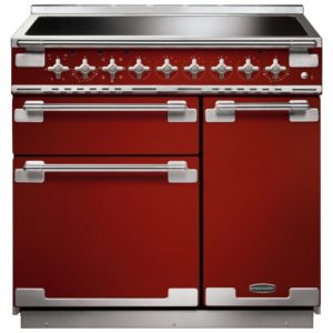 Rangemaster ELS90EIRD Elise 90cm Induction Range Cooker 107880 – RED