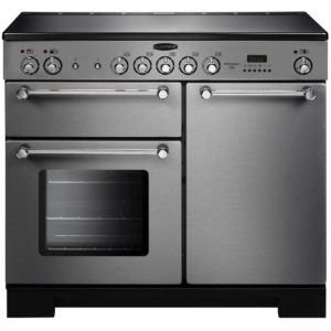 Rangemaster KCH100ECSS/C Kitchener 100cm Ceramic Range Cooker 112830 – STAINLESS STEEL