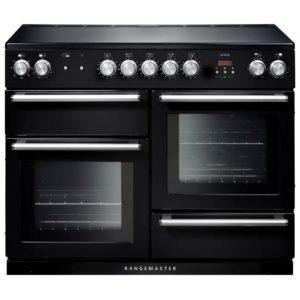Rangemaster NEX110EIBL/C Nexus 110cm Induction Range Cooker 104830 – BLACK
