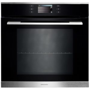 Rangemaster RMB610PBL/SS-SC 11216 Built In Pyrolytic Multifunction Single Oven – STAINLESS STEEL