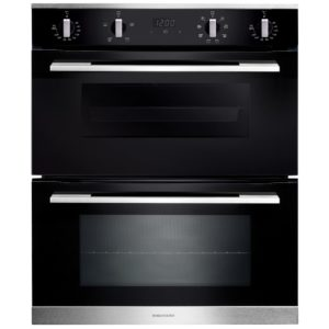 Rangemaster RMB7248BL/SS 11218 Built Under Double Oven – STAINLESS STEEL