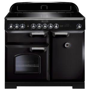 Rangemaster CDL100EIBL/C Classic Deluxe 100cm Induction Range Cooker 95920 – BLACK