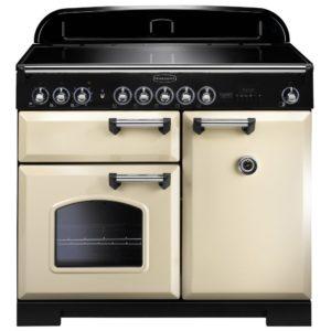 Rangemaster CDL100EICR/C Classic Deluxe 100cm Induction Range Cooker 95930 – CREAM