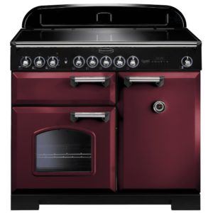 Rangemaster CDL100EICY/C Classic Deluxe 100cm Induction Range Cooker 95940 – CRANBERRY