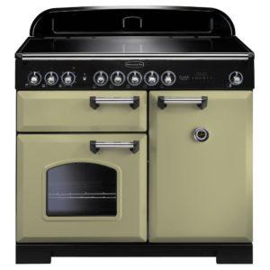 Rangemaster CDL100EIOG/C Classic Deluxe 100cm Induction Range Cooker 100920 – OLIVE GREEN