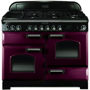 Rangemaster CDL110DFFCY/C Classic Deluxe 110cm Dual Fuel Range Cooker 84420 – CRANBERRY