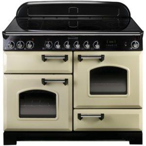 Rangemaster CDL110ECCR/C Classic Deluxe 110cm Ceramic Range Cooker 81330 – CREAM