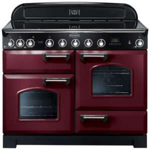 Rangemaster CDL110EICY/C Classic Deluxe 110cm Induction Range Cooker 90400 – CRANBERRY