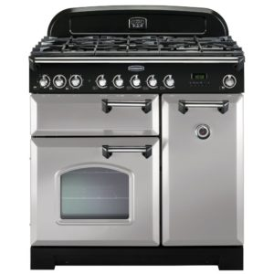 Rangemaster CDL90DFFRP/C Classic Deluxe 90cm Dual Fuel Range Cooker 100600 – ROYAL PEARL