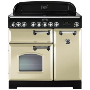 Rangemaster CDL90EICR/B Classic Deluxe 90cm Induction Range Cooker 90280 – CREAM