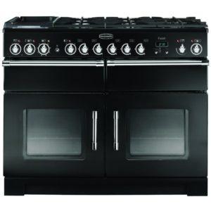 Rangemaster EXL110DFFBL/C Excel 110cm Dual Fuel Range Cooker 80520 – BLACK