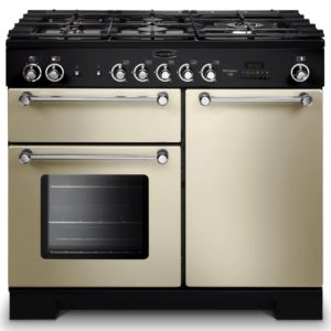 Rangemaster KCH100NGFCR/C Kitchener 100cm Gas Range Cooker 111960 – CREAM