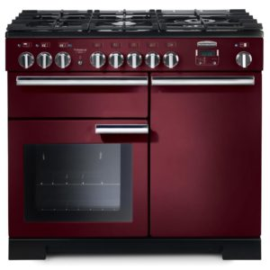 Rangemaster PDL100DFFCY/C Professional Deluxe 100cm Dual Fuel Range Cooker 97580 – CRANBERRY