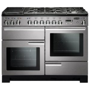 Rangemaster PDL110DFFSS/C Professional Deluxe 110cm Dual Fuel Range Cooker 97510 – STAINLESS STEEL